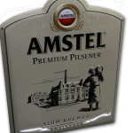 Amstel-reclame-bord